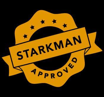 Starkman Approved Logo